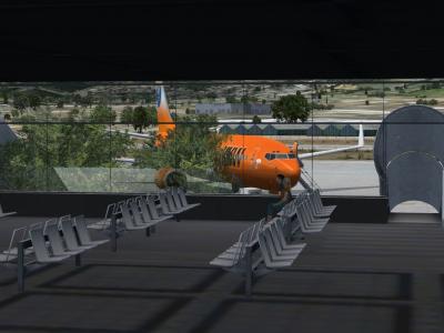 737-800 à Split LDSP, Juillet 2016