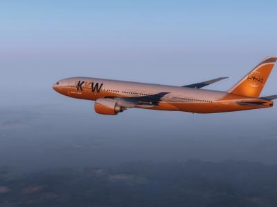 777-200 arrivant sur cap town