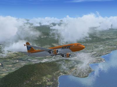 A320 Depart Chambery
