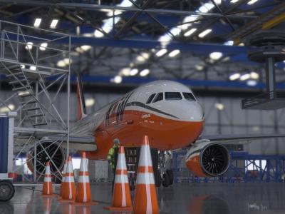 A320 Fraichement repaint