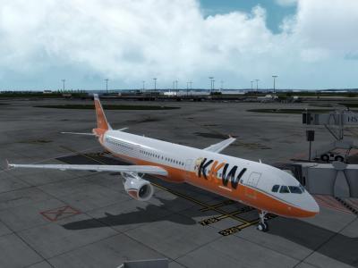 A321 F-KW27 sortant des ateliers peinture !