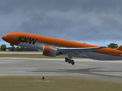 Airborne to back home ( KKW130N CYUL-LFRS)