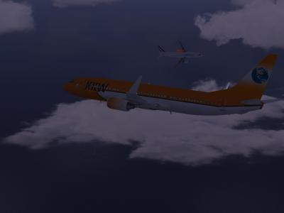 Airprox at FL 150