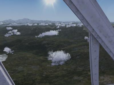 Alaska: Le mont DENALI au soleil de minuit (0 h 14)