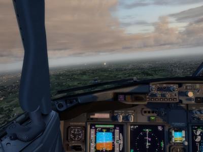 Arrivée à Schipol avec le F-BEN57