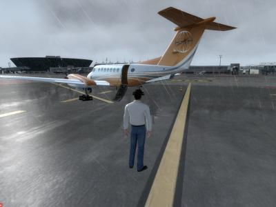 Arrivée du F-KW49 sur son HUB à Nice !!