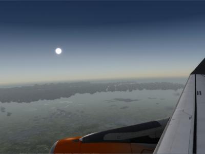 Au dessus d'Amsterdam