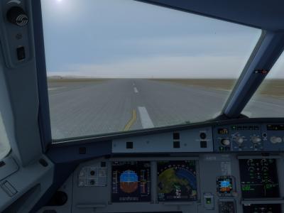 Autorisé décollage piste 13L - Marseille - Visibilité diminuée