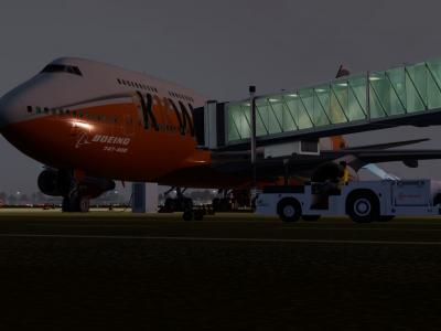 Before pushback procedure !
