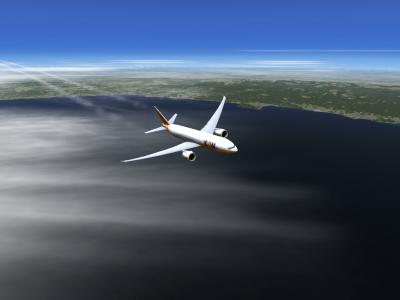 Boeing 777-200LR Majestik LFMN/OMDB