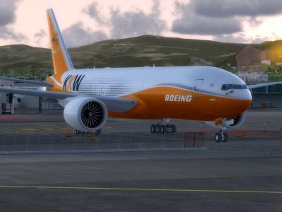 Boeing 777 Cargo Texture BOE