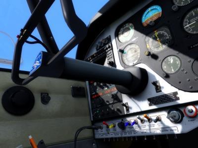Cockpit PA24 Comanche
