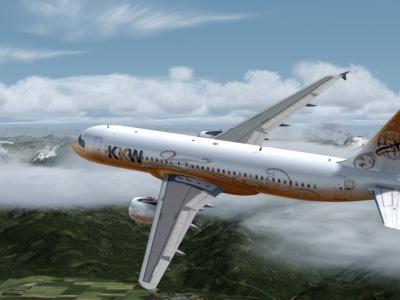 Décollage Genève - A320 Dynamik