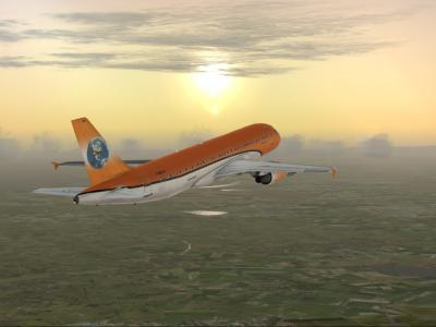 Départ LFML - EGLL A320