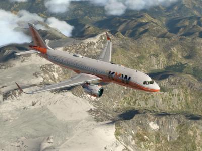 De retour d'Innsbruck vers Mérignac avec le KKW53