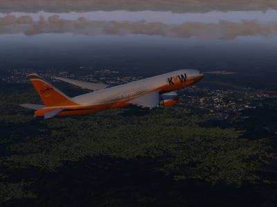 Direction Tenerif pour le B77F