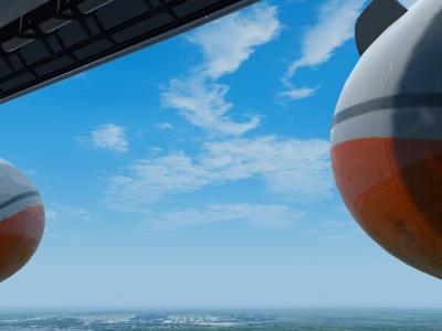 Final runway 26L at Atlanta
