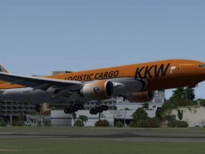 First Flight of Montreal KKw01Y CYUL-TNCM (landing rwy 10 TNCM )