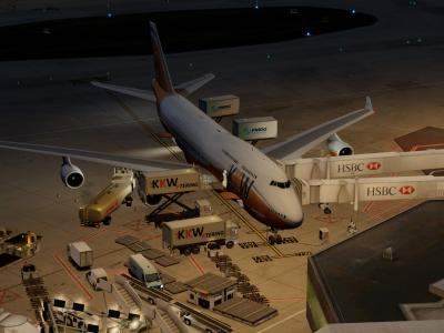 Flight preparation - KKW288 bound to Shanghai Hongqiao ZSSS