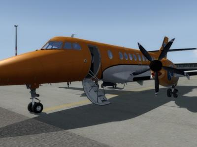 Jetstream 41 Ready for boarding