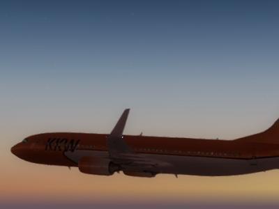 KKW sunset