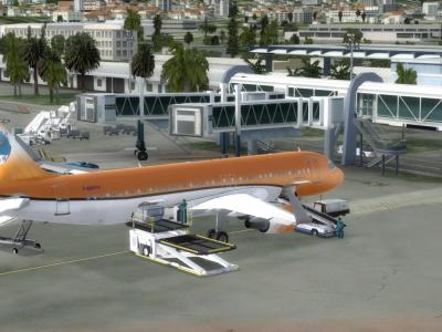 LFMN Terminal 1 - Boarding