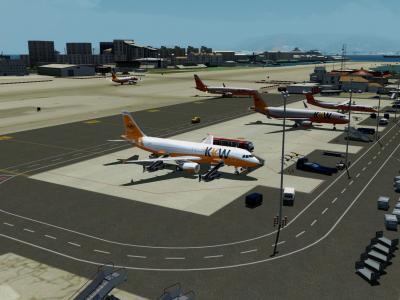 La Kawet investie le parking de Gibraltar !