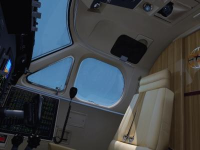 La touche du peintre KKW Cockpit KingAir B350