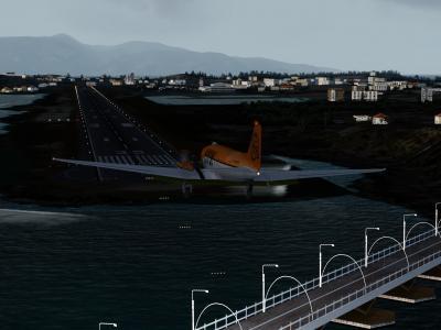 Landing RW35 @Corfu