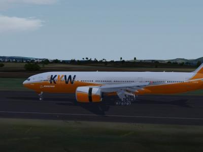 Landing at @TFFF