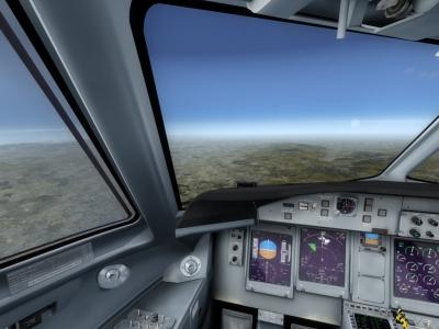 Q400 Flight Deck