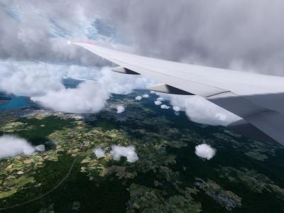Singapore departure ...