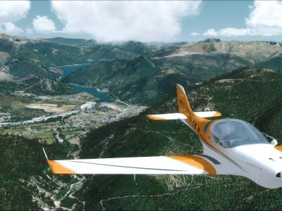 St André des Alpes Etape 22 du Tour VFR Touch'n go