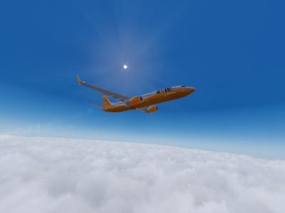 Transport de l'avion de secours à Kangerlussuaq ! Mission FrigorifiK