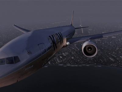 Triste photo du F-KKW01 au départ de Mumbai (VABB) avant son grand plouf. . .