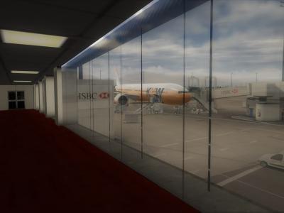 Un PAX immortalise le 777-300ER KKW