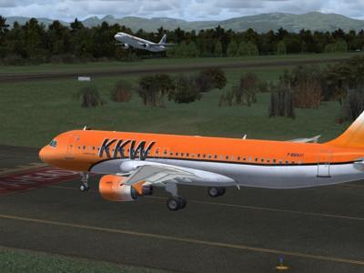 Un pilote KKW Compagnie qui croise un CaravAiles !