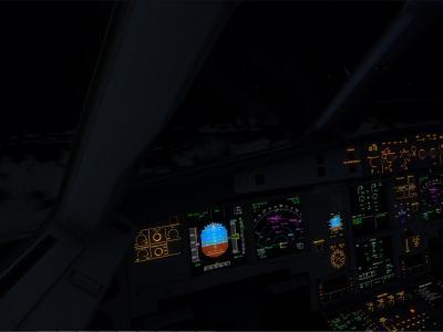 Une GOPRO s'invite a bord de l'A321 en route pour StMartin