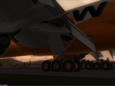 Une piste un poil courte !!!   777 Cargo