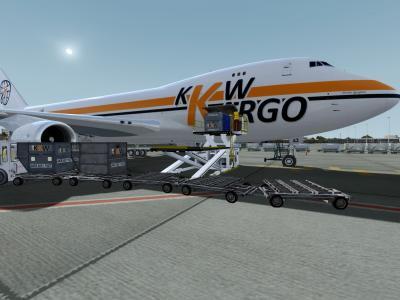 Unloading @ Dubai !