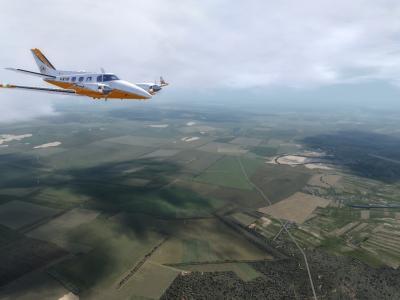 WT VFR Europe over Moldavia